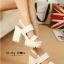 รองเท้าส้นตึก Style Nanda (สีขาว) thumbnail 4