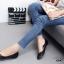 รองเท้าคัทชูส้นแบน Style Zara (สีดำ) thumbnail 5