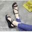 รองเท้าแตะแต่งคริสตัล (สีเงิน) thumbnail 6