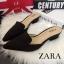 พร้อมส่ง : รองเท้าหัวแหลม STYLE ZARA (สีดำ) thumbnail 1