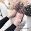 รองเท้าคัทชูต่อผ้าหลากสี (สีดำ) thumbnail 2