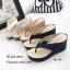 รองเท้าแตะคีบส้นเตารีดสไตล์ลำลอง (สีเทา) thumbnail 10