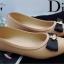 รองเท้าคัทชูหนังนิ่ม Style Dior (สีดำ) thumbnail 12