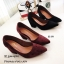 รองเท้าคัทชูส้นตันทรงหุ้มส้น (สีดำ) thumbnail 9