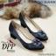รองเท้าคัทชูส้นตัน Manolo Blahnik Style (สีครีม) thumbnail 3