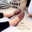 รองเท้าผ้าใบเสริมส้นลายลูกไม้ (สีกรม) thumbnail 6