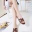 รองเท้าแตะ Style Hermes ฉลุลาย (สีดำ) thumbnail 18