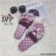 รองเท้าแตะโบว์สไตล์แฟชั่นเกาหลี (สีดำ) thumbnail 10