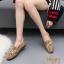 รองเท้าคัทชูนิ่มปักลายดอกไม้ (สีชมพู) thumbnail 6