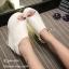 รองเท้าลำลองส้นเตารีดแต่งเมจิกเทป (สีดำ) thumbnail 5