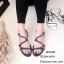รองเท้าแตะโซ่ซิกแซค Style Givenchy (สีดำ) thumbnail 1