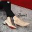 รองเท้าคัทชูส้นเหลี่ยม (สีดำ) thumbnail 6