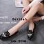 รองเท้าคัทชูทรงสวมปักลายผึ้ง Style Gucci (สีดำ) thumbnail 5