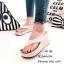 รองเท้าแตะคีบส้นเตารีดสไตล์ลำลอง (สีเทา) thumbnail 9