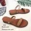 รองเท้าแตะแแต่งสายคาดสไตล์ลำลอง (สีเขียว) thumbnail 5