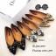 รองเท้าคัทชูแต่งอะไหล่เพชรผีเสื้อ (สีดำ) thumbnail 10