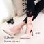 รองเท้าคัทชูกำมะหยี่รัดข้อ (สีดำ) thumbnail 8