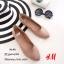 รองเท้าส้นแบนสไตล์ HM (สีครีม) thumbnail 1