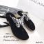 รองเท้าแตะผีเสื้อแต่งเพชร (สีครีม) thumbnail 8