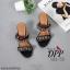 รองเท้าส้นตัน Style Givenchy (สีเทา) thumbnail 6