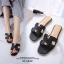 รองเท้าแตะ Style Hermes ฉลุลาย (สีดำ) thumbnail 1