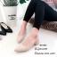 รองเท้าคัทชูรัดส้นทรงหัวแหลม (สีครีม) thumbnail 2