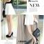 รองเท้าคัทชูสีดำกำมะหยี่ thumbnail 5