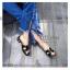 รองเท้าแตะ Hermes ส้นมุก (สีดำ) thumbnail 3
