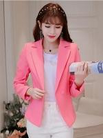 เสื้อสูททำงานผู้หญิงสีชมพู รหัสสินค้า 4-007RX-ชมพู